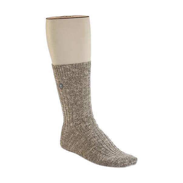 Birkenstock Men's Cotton Slub Socks GRAYWHITE