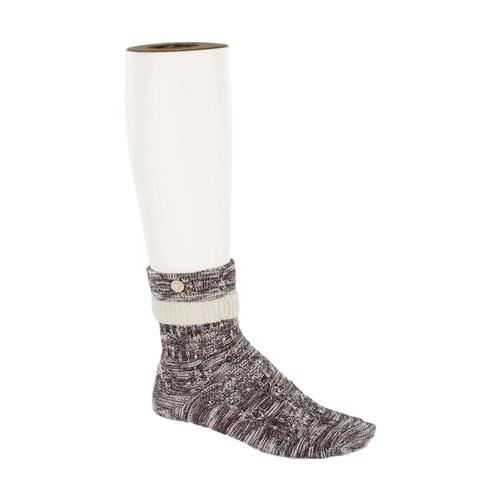Birkenstock Women's Cotton Structure Socks Peppercorn