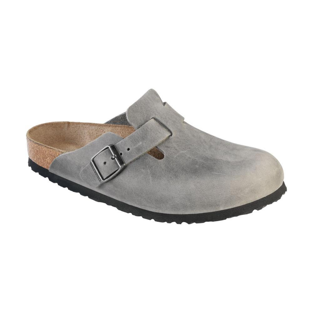 Womens Birkenstock Boston Soft Footbed Clog Taupe