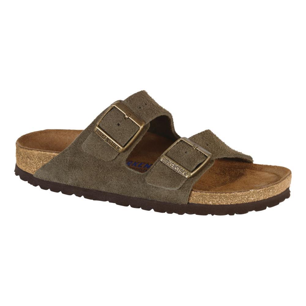 Birkenstock Women's Arizona Soft Footbed Suede Sandals FOREST