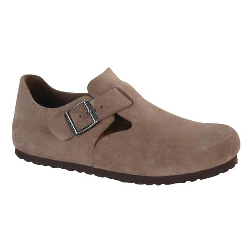 Birkenstock Women's London Suede Shoes Taupesuede