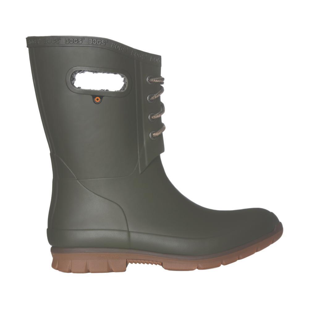 Bogs Women's Amanda Plush Boots DARKGREEN