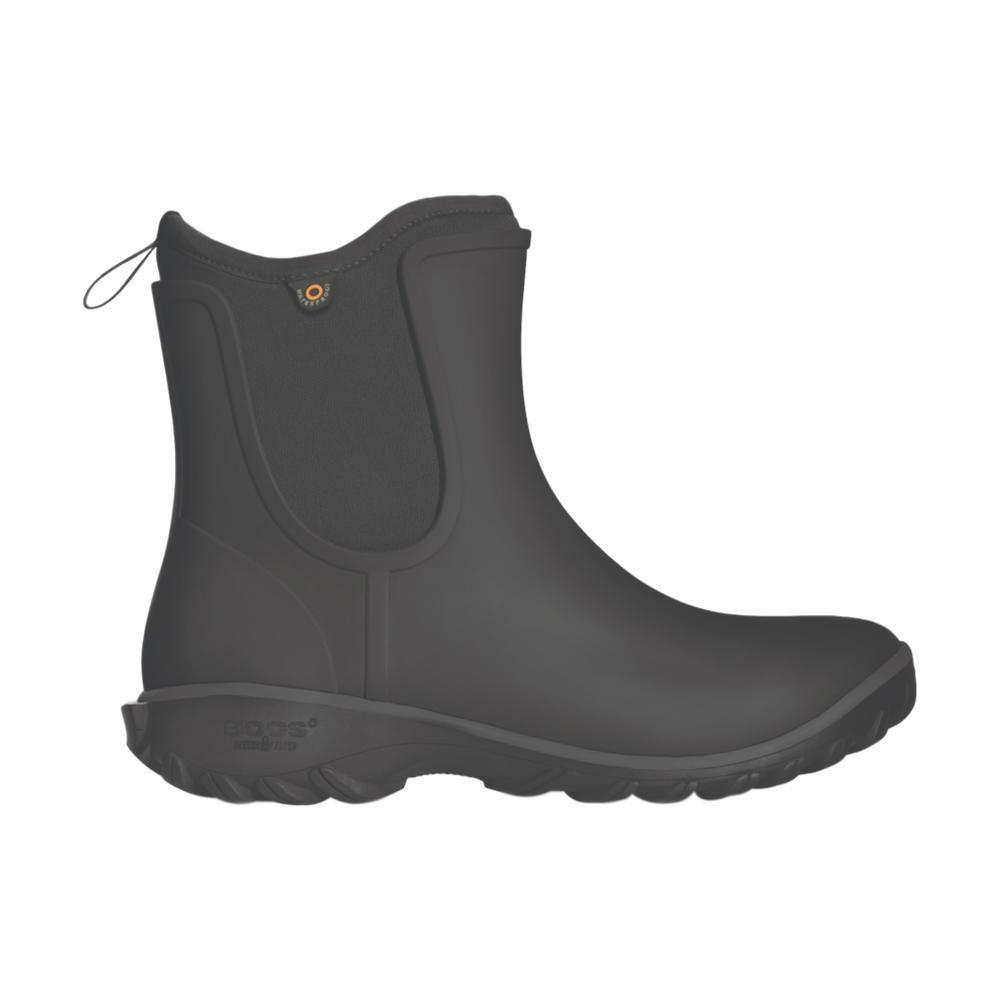 Bogs Women's Sauvie Slip On Boots BLACK