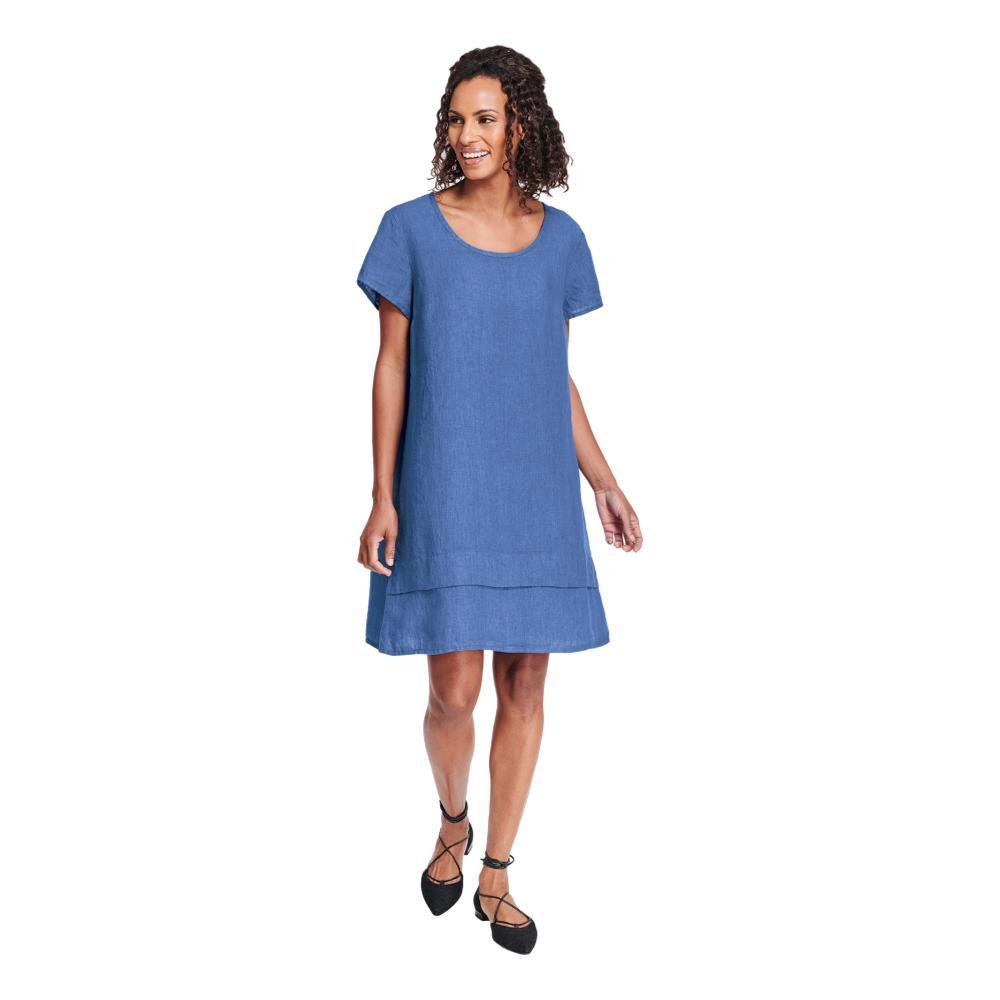 FLAX Women's One Tuck Wonderful Dress LAPIS
