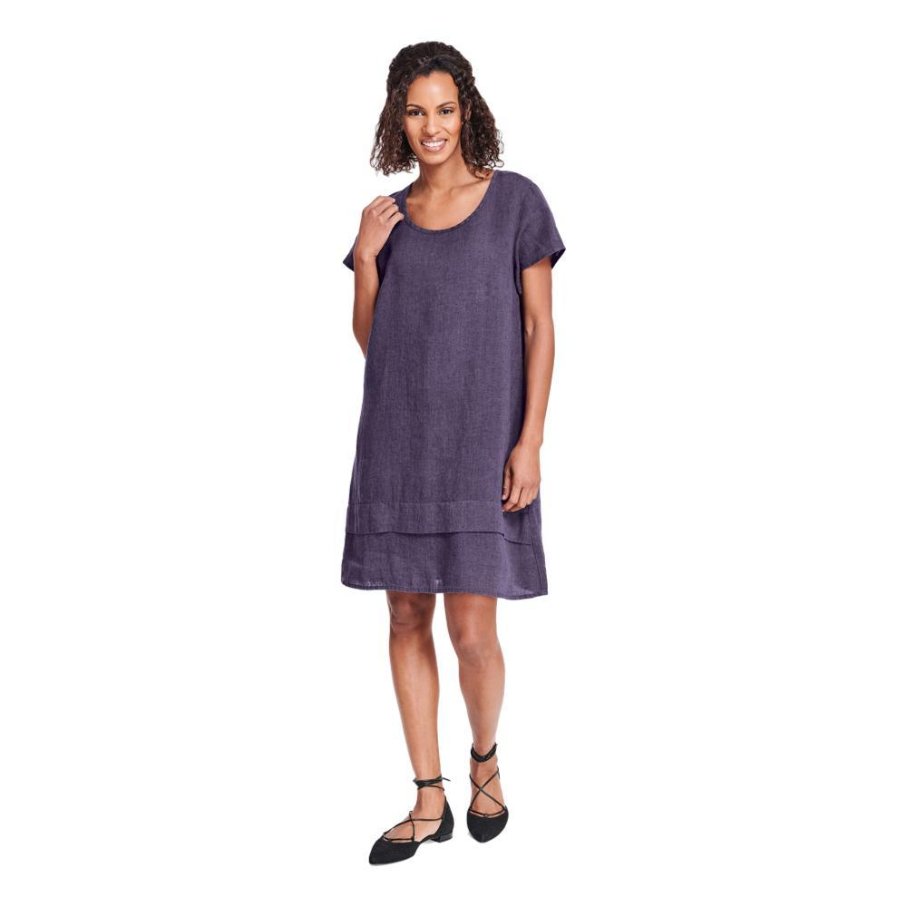 FLAX Women's One Tuck Wonderful Dress PLUM