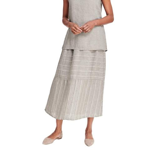 FLAX Women's Breezy Skirt Mushrmlinea