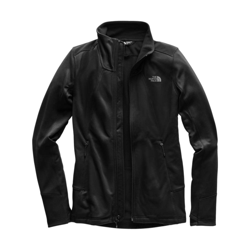 The North Face Women's Shastina Stretch Full Zip BLACK_KX7