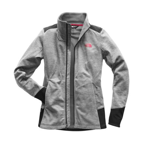 The North Face Women's Shastina Stretch Full Zip Mdgry_hat