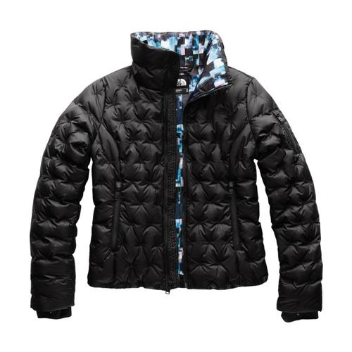 The North Face Women's Holladown Crop Jacket Blackprt_6tg