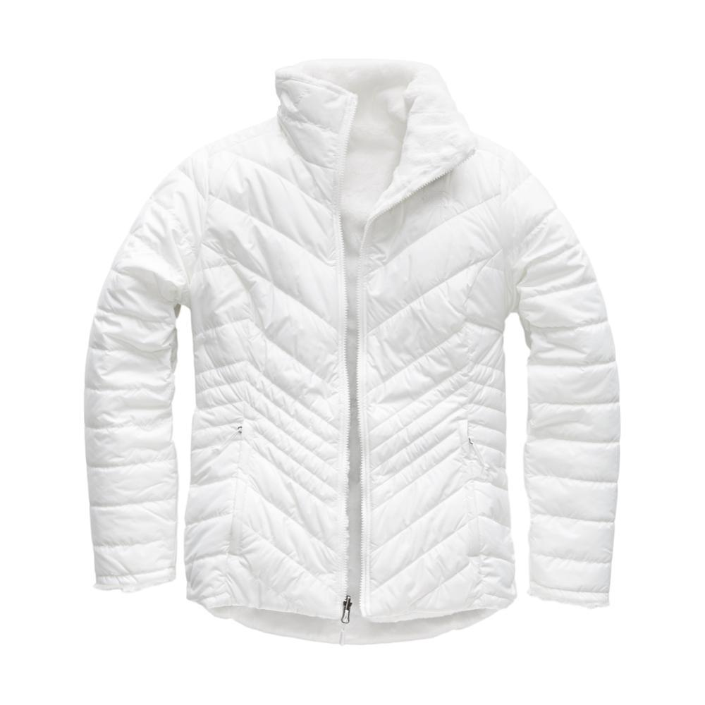 The North Face Women's Mossbud Insulated Reversible Jacket WHITE_FN4