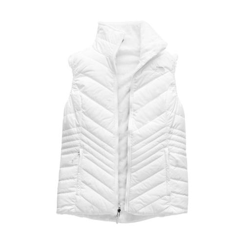 The North Face Women's Mossbud Insulated Reversible Vest White_fn4