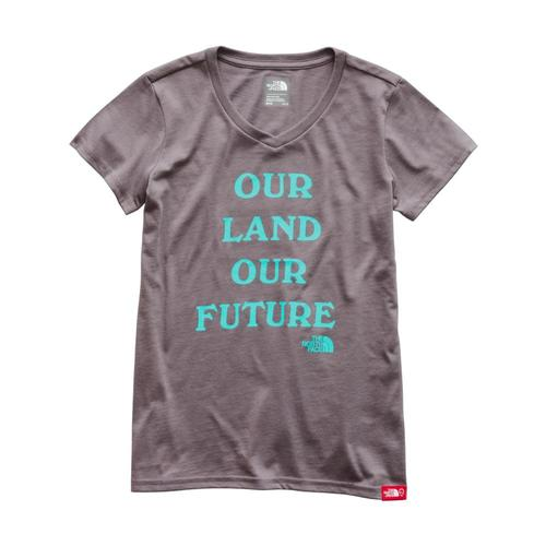 The North Face Girls Short-Sleeve Bottle Source Tee Grey_hcw