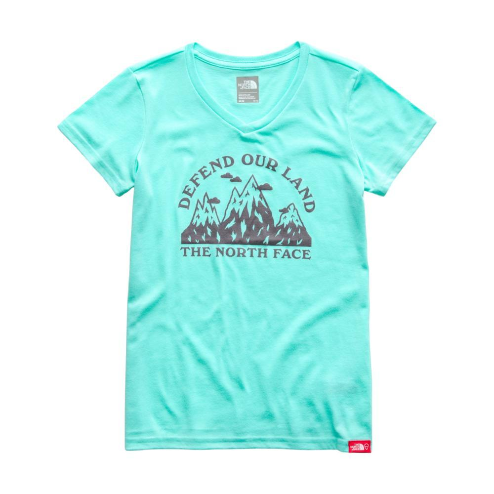 The North Face Girls Short-Sleeve Bottle Source Tee MINTBLUE_N2P