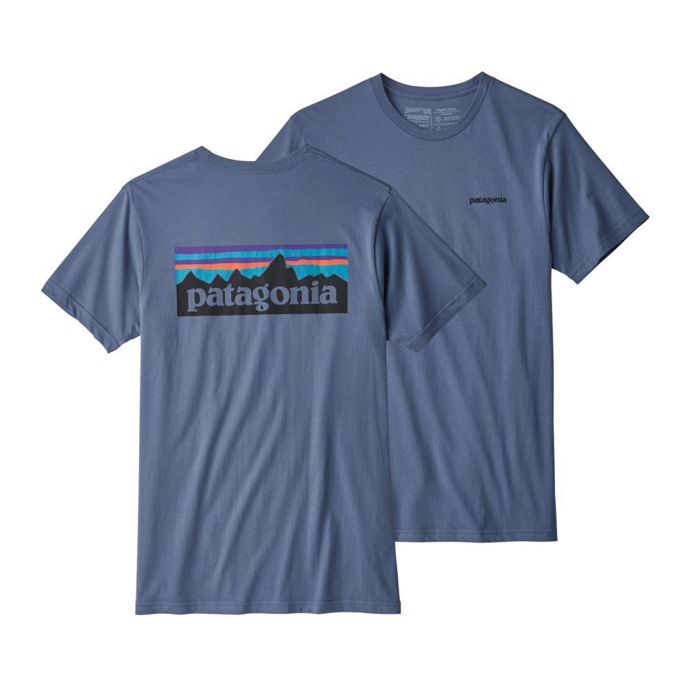 Patagonia Men's P-6 Logo Organic Cotton T-Shirt DOLMIB_DLMB