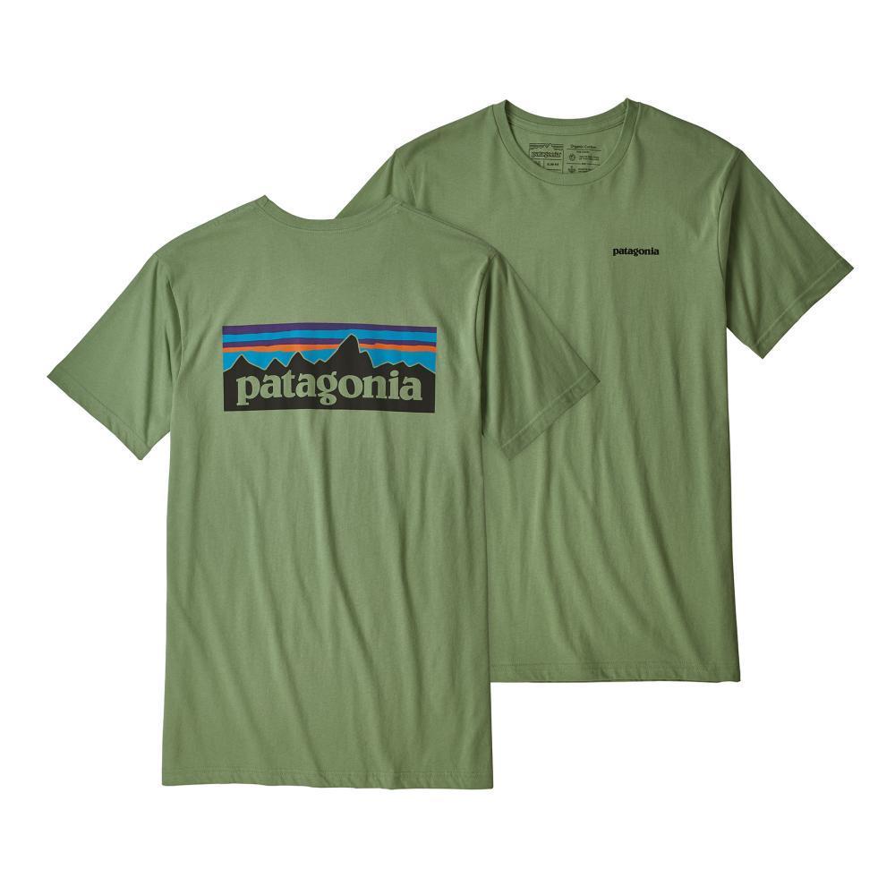 Patagonia Men's P-6 Logo Organic Cotton T-Shirt MACH