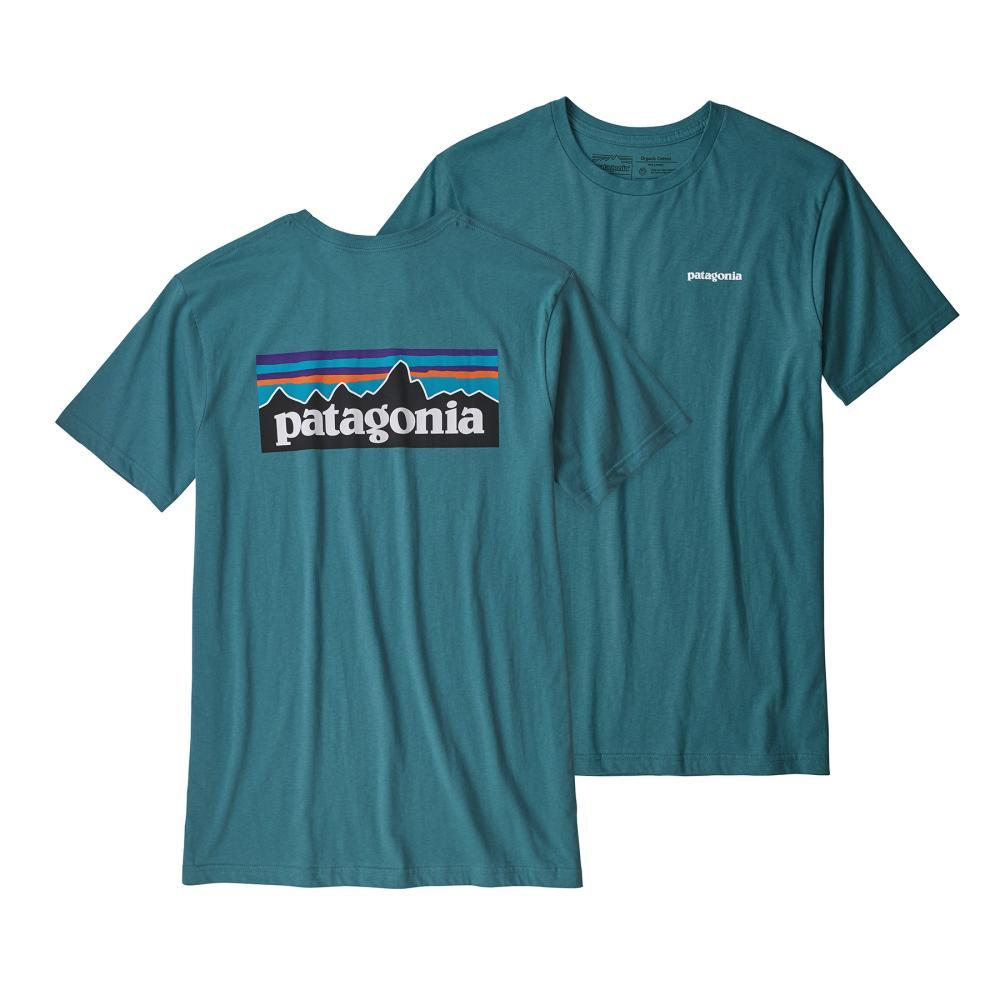 Patagonia Men's P-6 Logo Organic Cotton T-Shirt TATE