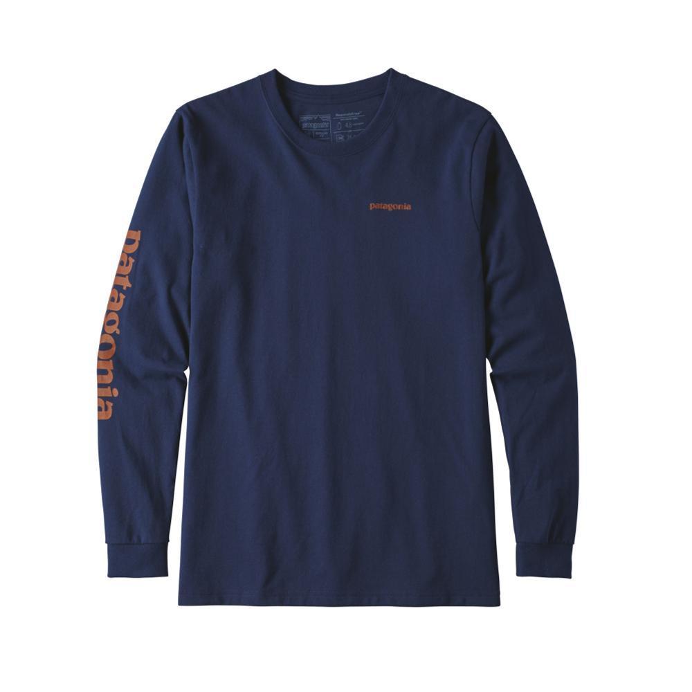 Patagonia Men's Long-Sleeved Text Logo Responsibili-Tee CLASSIC_CNY