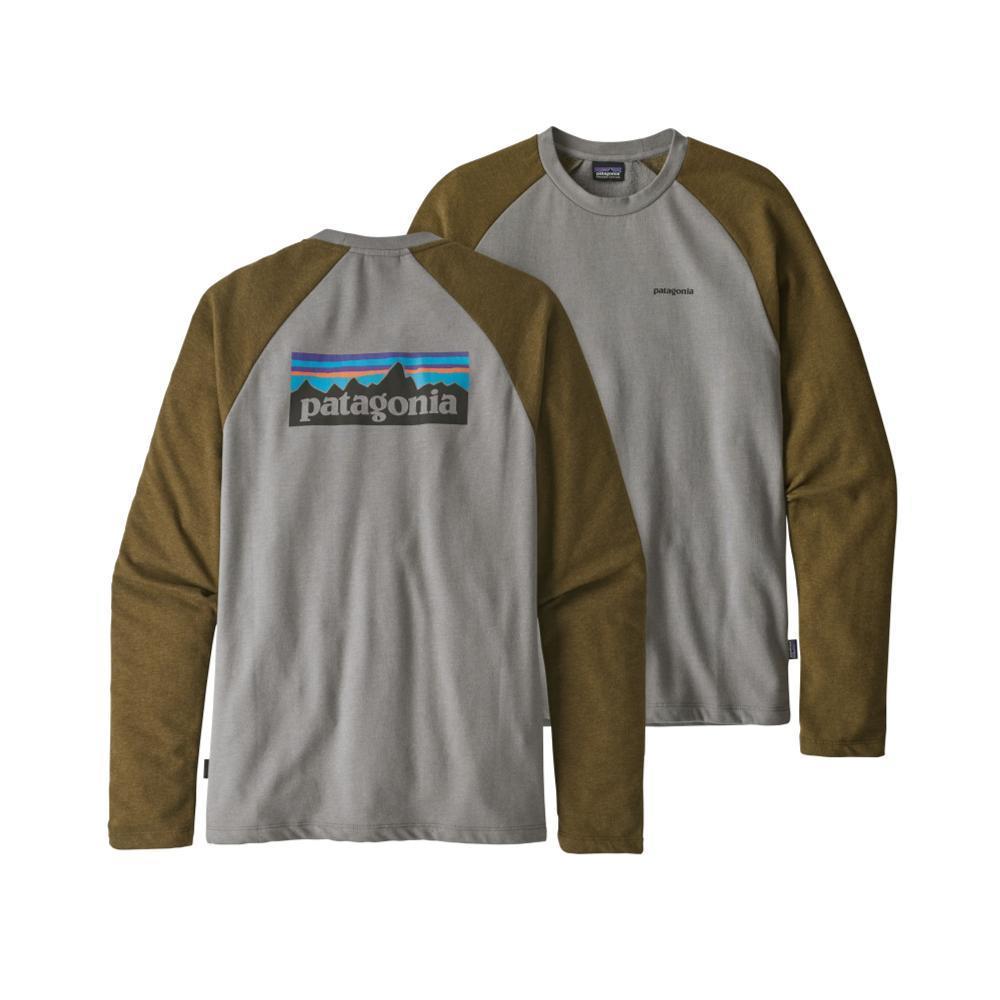 Patagonia Men's P-6 Logo Lightweight Crew Sweatshirt FEATHER_FEA