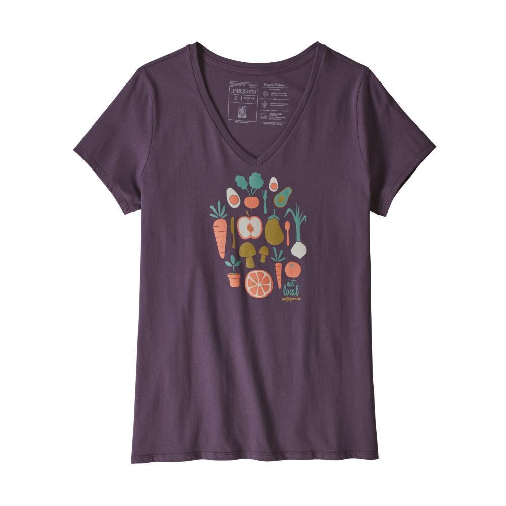Patagonia Women's Harvest Haul Organic V-Neck T-Shirt PITONP_PTPL