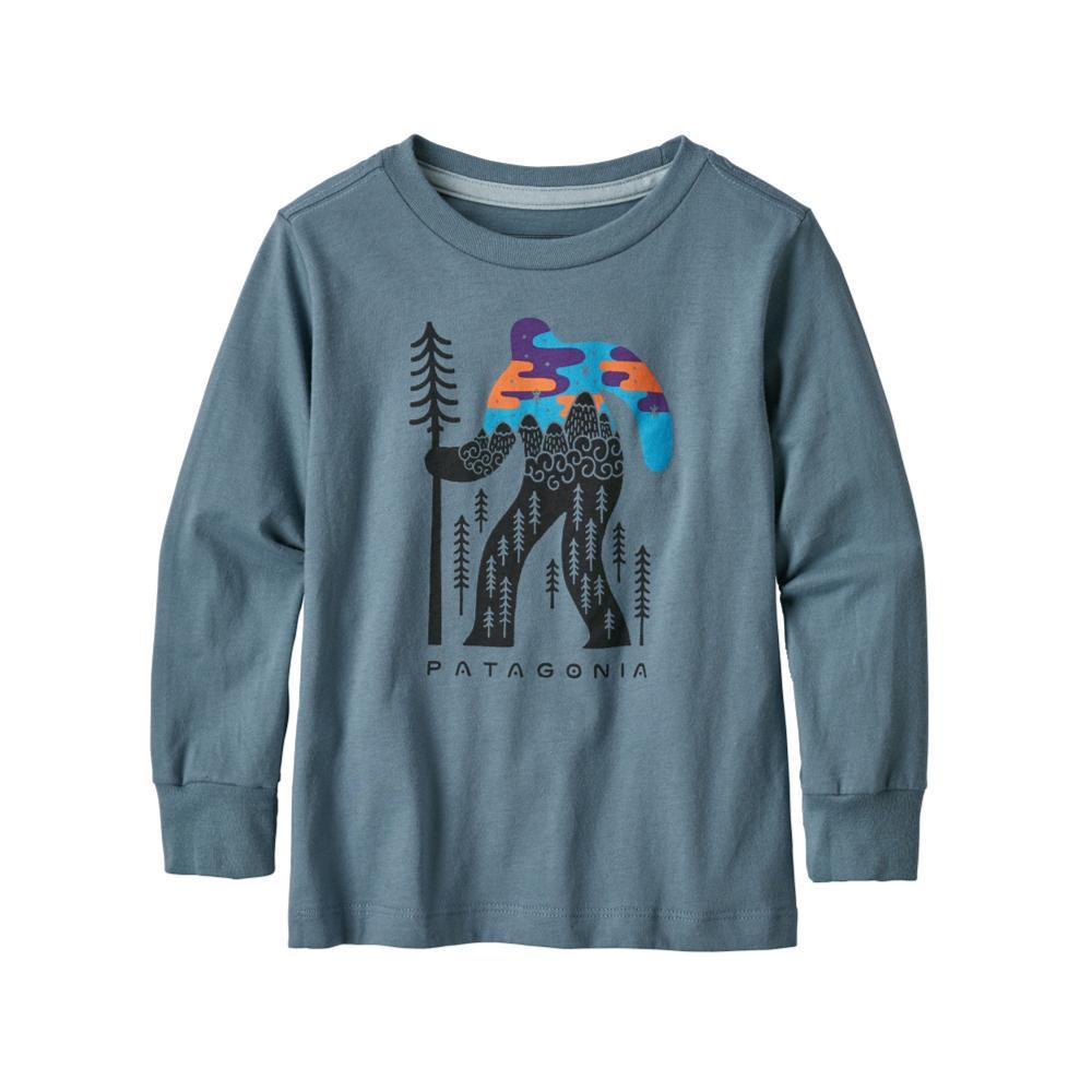 Patagonia Baby Long- Sleeved Graphic Organic T- Shirt