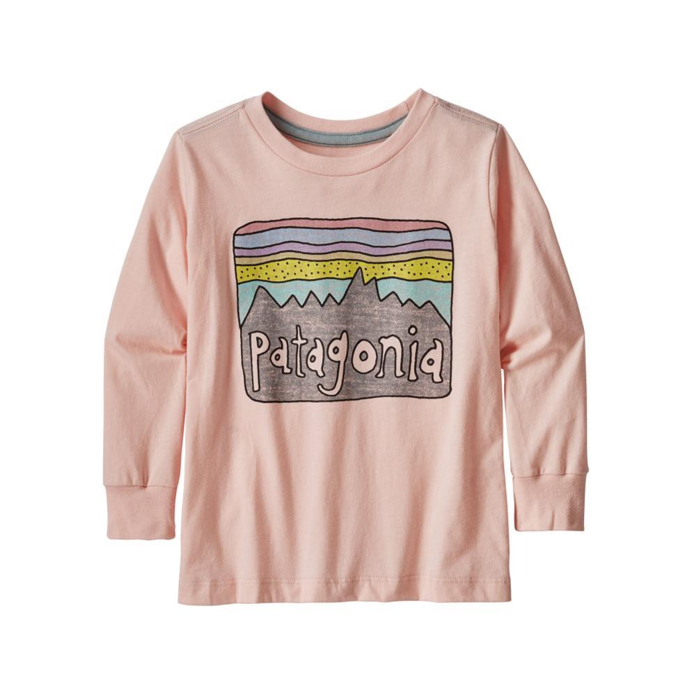 Patagonia Baby Long-Sleeved Graphic Organic T-Shirt PNKOPAL_LLVG