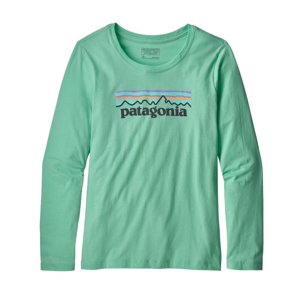 Patagonia Girls Long- Sleeved Graphic Organic T- Shirt