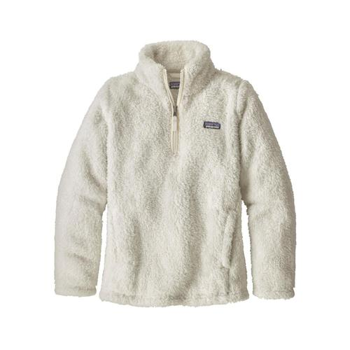 Patagonia Girls Los Gatos 1/4-Zip White_bcw