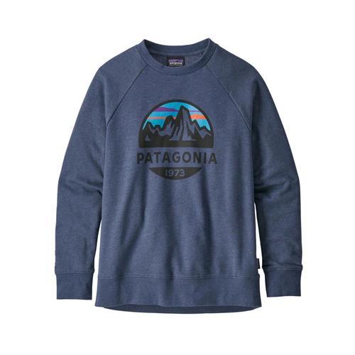 Patagonia Kids Lightweight Crew Sweatshirt Blue_frsd