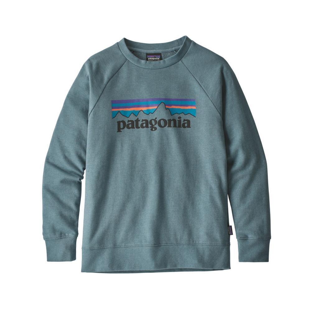 Patagonia Kids Lightweight Crew Sweatshirt SHDWBLUE_PLSH