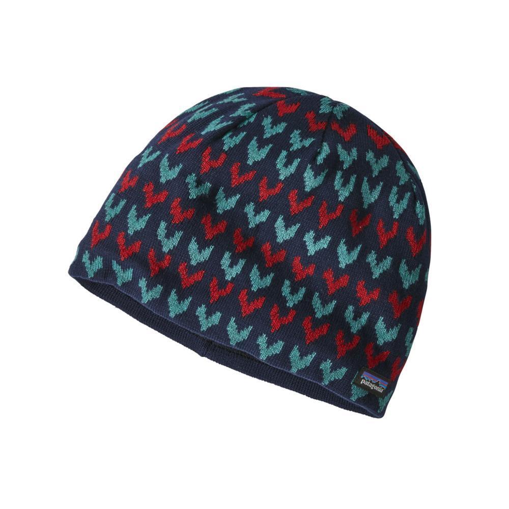 Patagonia Kids Beanie Hat NAVY_STIC