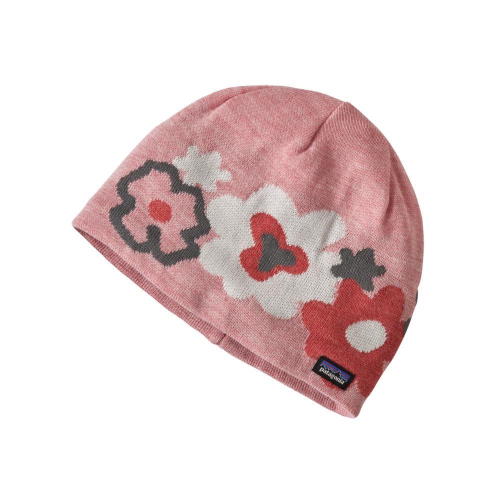 Patagonia Kids Beanie Hat PINK_DDMP