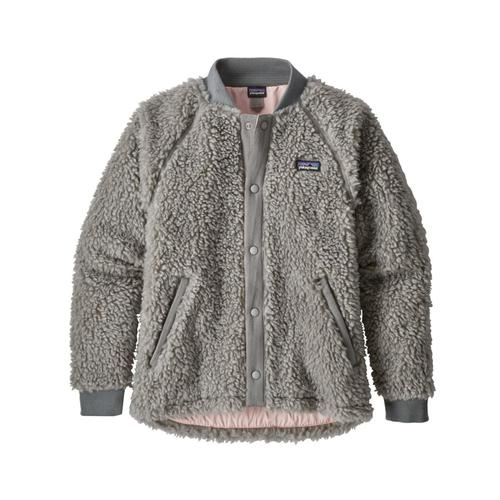 Patagonia Girls Retro-X Bomber Jacket Grey_dftg