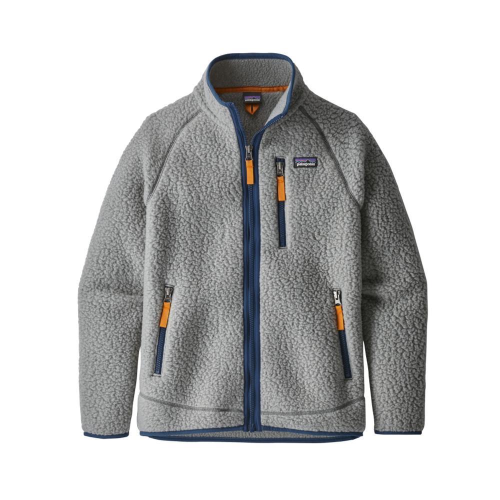 Patagonia Boys Retro Pile Jacket GREY_FEA
