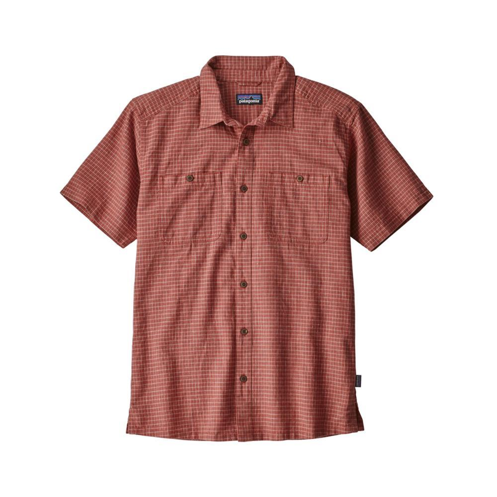 Patagonia Men's Back Step Short Sleeve Shirt OWNA_ADOBE