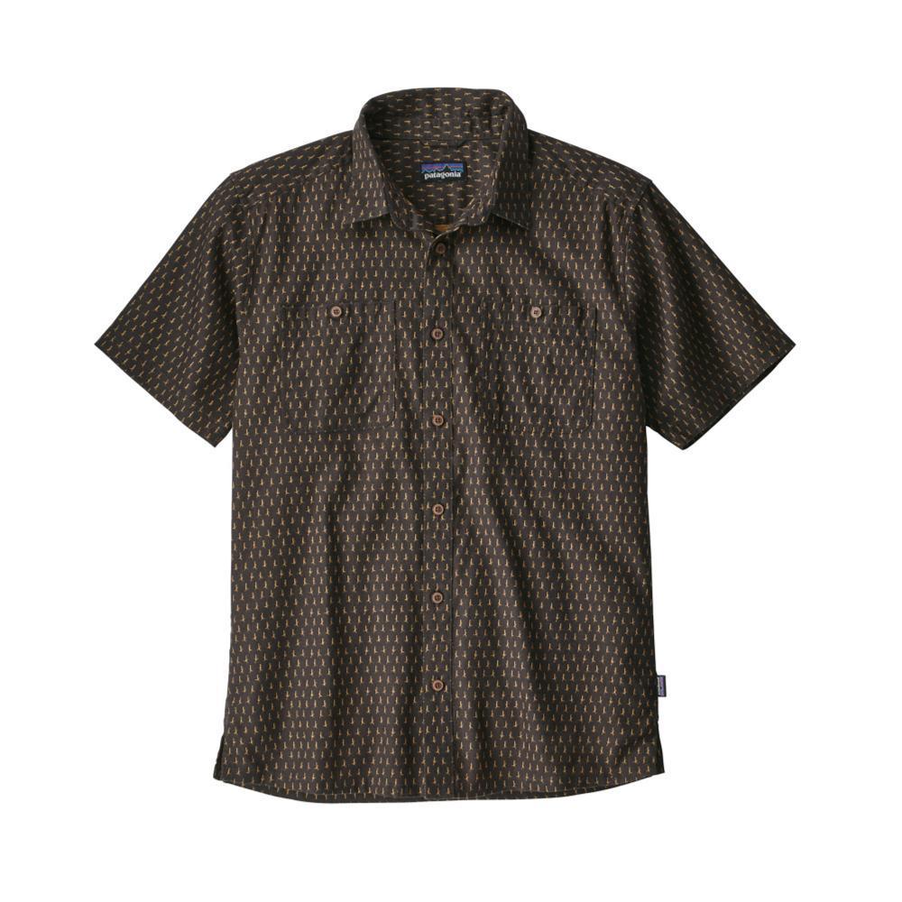 Patagonia Men's Back Step Short Sleeve Shirt WIIB_BLK