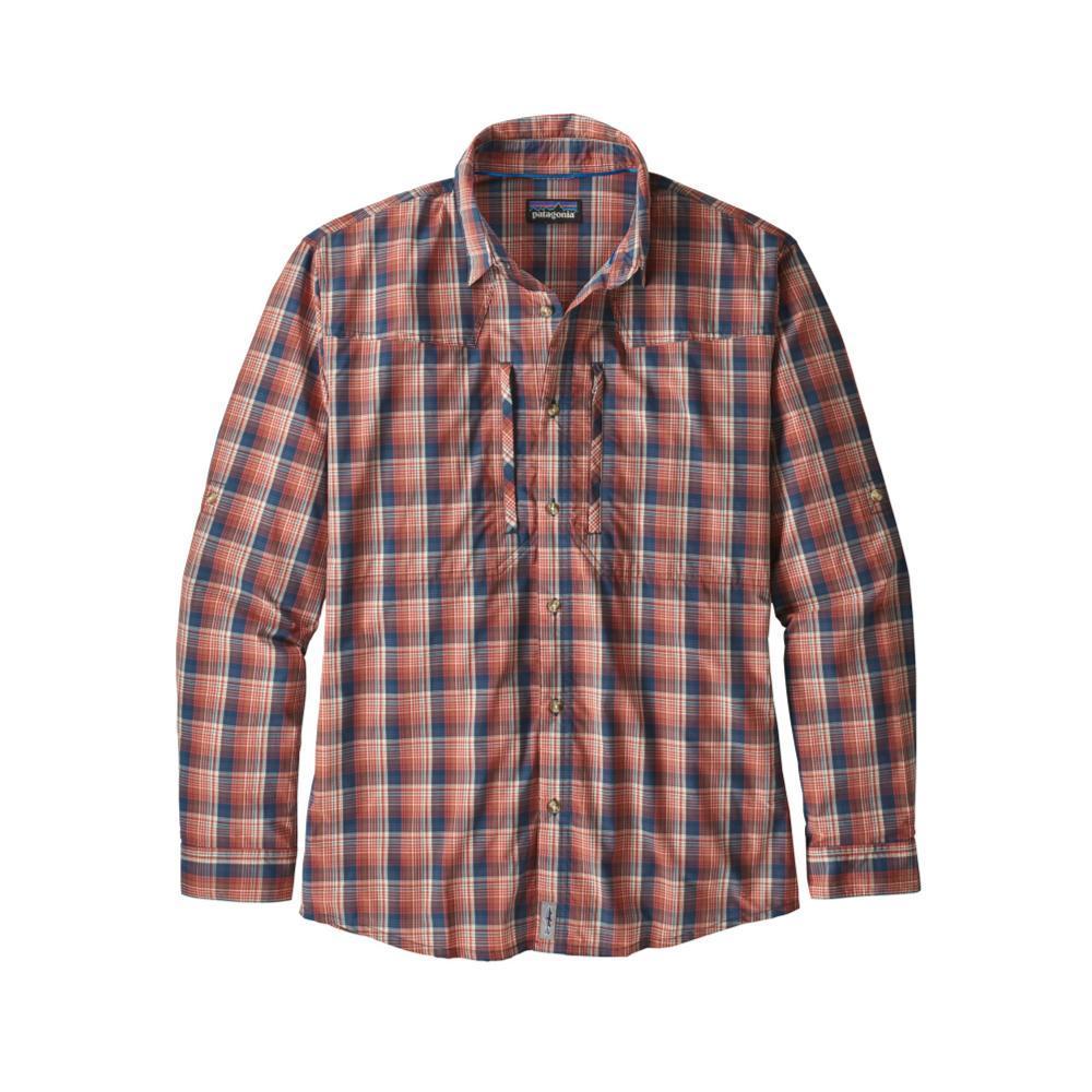 Patagonia Men's Long-Sleeved Sun Stretch Shirt RHNA_ADOBE