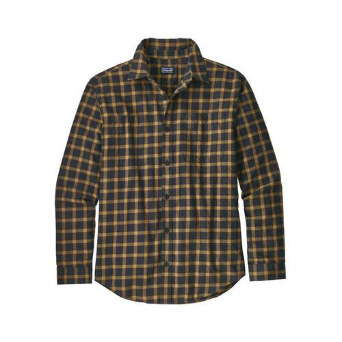 Patagonia Men's Long-Sleeved Organic Pima Cotton Shirt Lpbl_blk