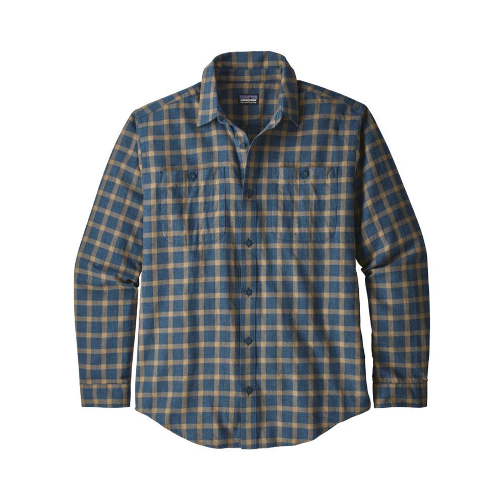 Patagonia Men's Long-Sleeved Organic Pima Cotton Shirt LPST_BLUE