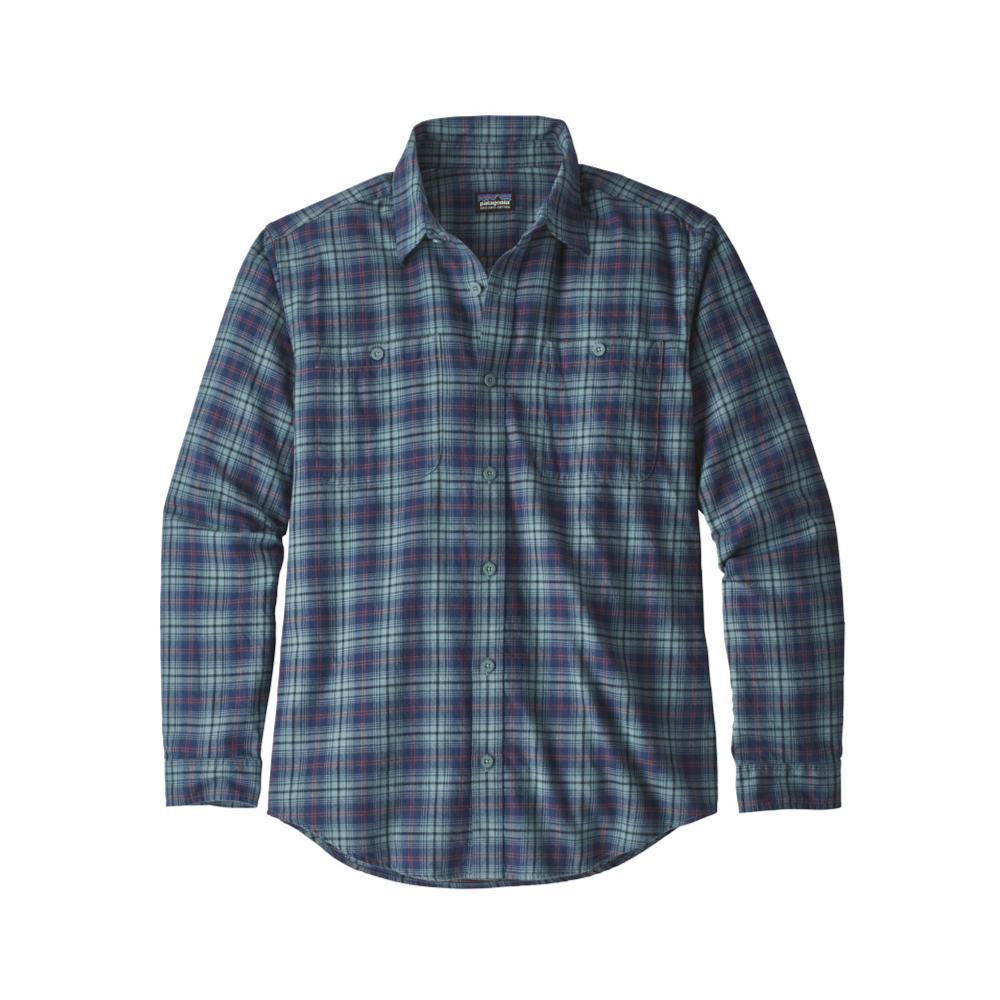 Patagonia Men's Long-Sleeved Organic Pima Cotton Shirt PASB_BLUE