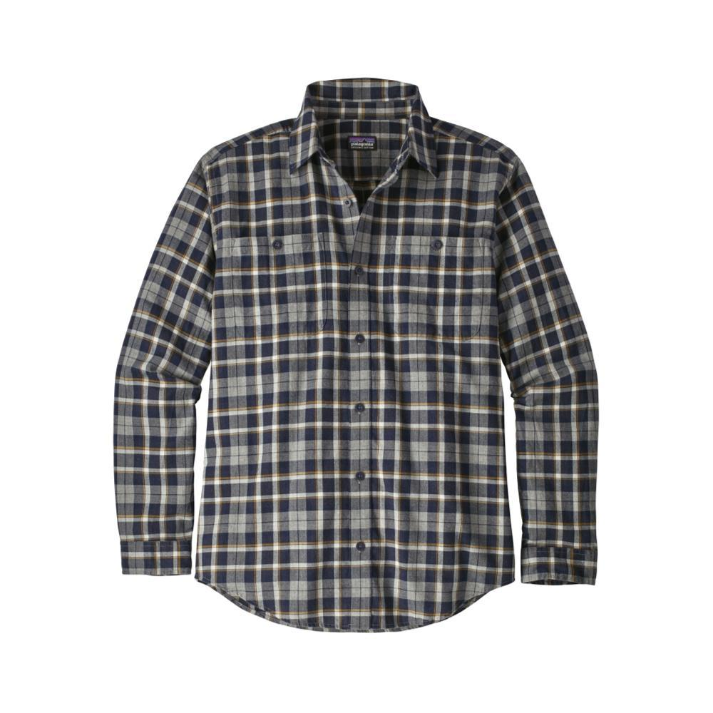 Patagonia Men's Long-Sleeved Organic Pima Cotton Shirt UNFG_GREY