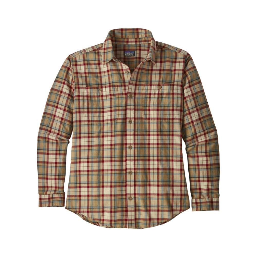 Patagonia Men's Long-Sleeved Organic Pima Cotton Shirt UNMK_KHAKI