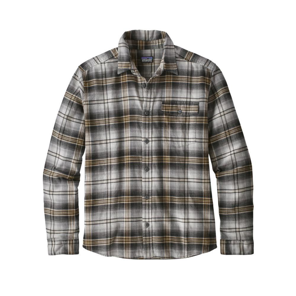 Patagonia Men's Lightweight Fjord Flannel Shirt BOBL_BLK