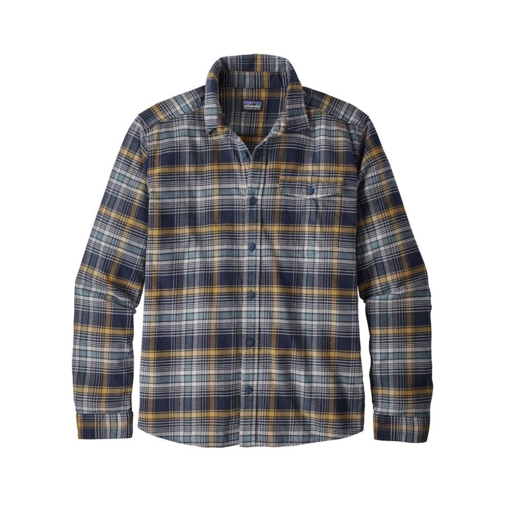 Patagonia Men's Lightweight Fjord Flannel Shirt ROZN_BLUE