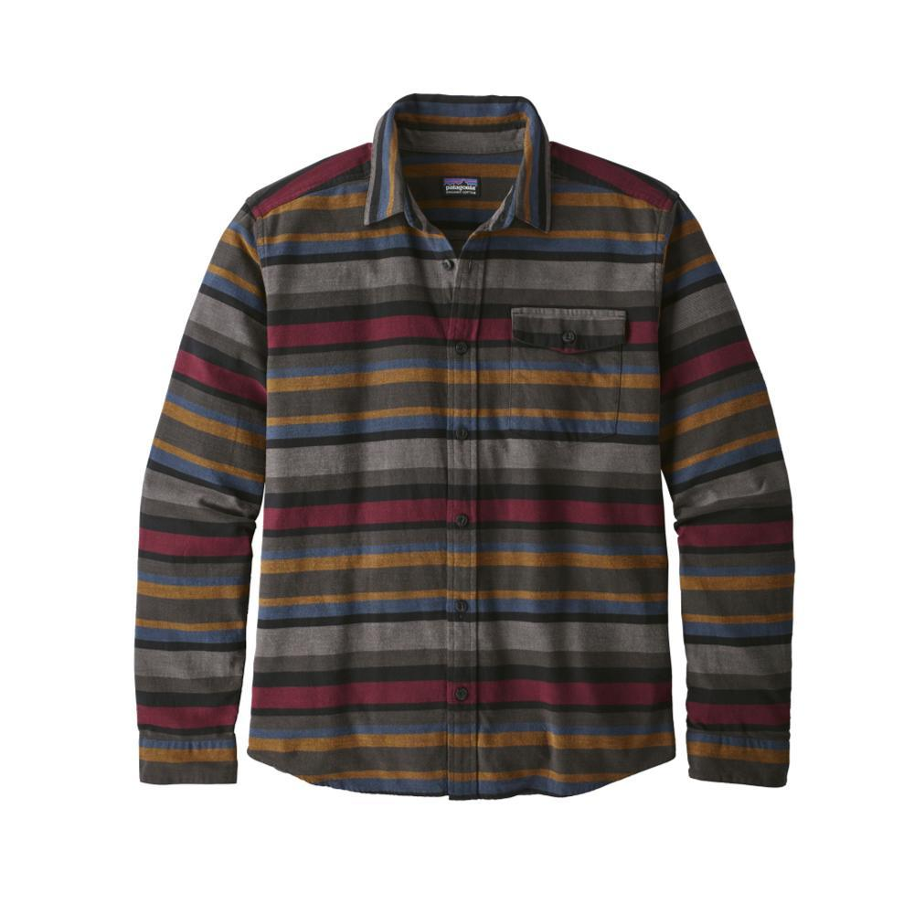 Patagonia Men's Lightweight Fjord Flannel Shirt RSBL_BLK