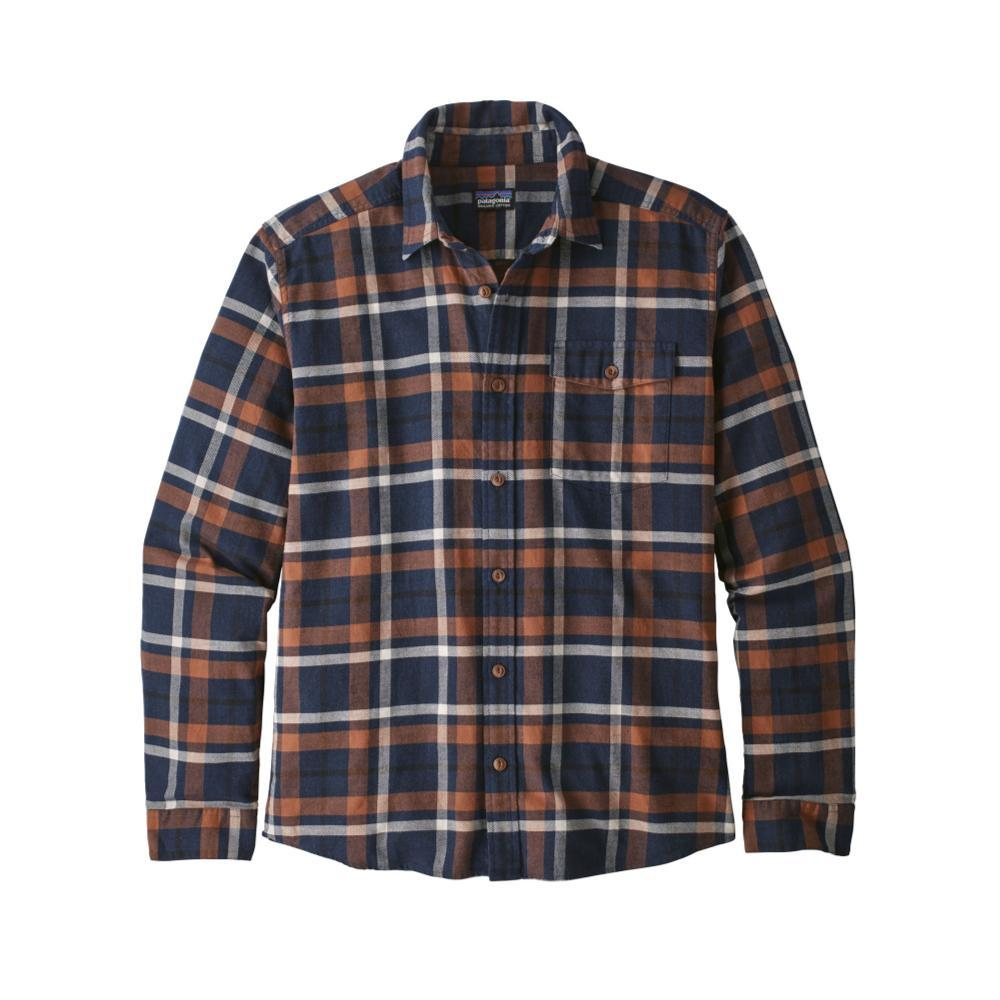 Patagonia Men's Lightweight Fjord Flannel Shirt TPNA_BLUE