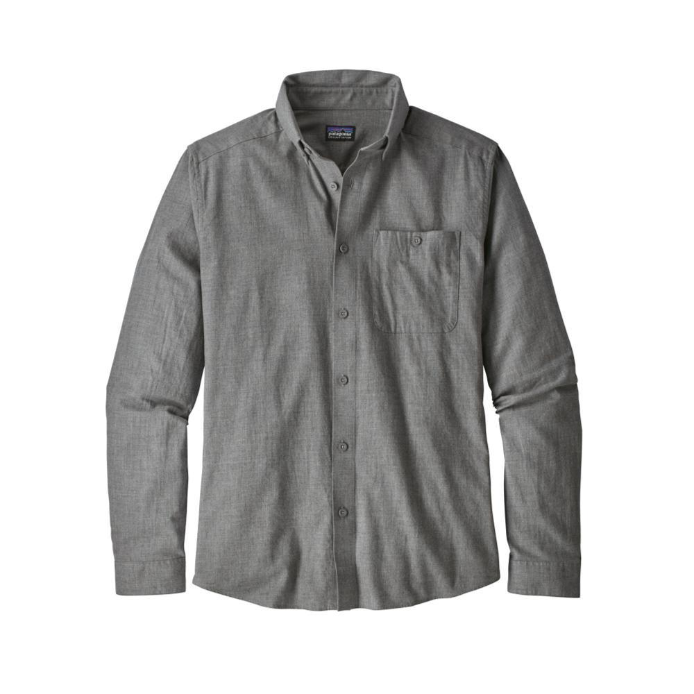 Patagonia Men's Long-Sleeved Vjosa River Pima Cotton Shirt FEA_GREY