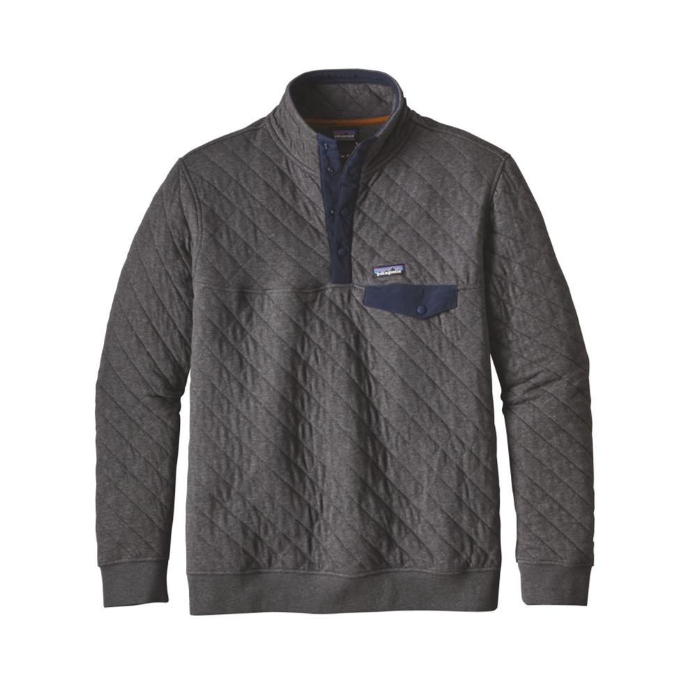 Patagonia Men's Cotton Quilt Snap-T Pullover FGE_GREY