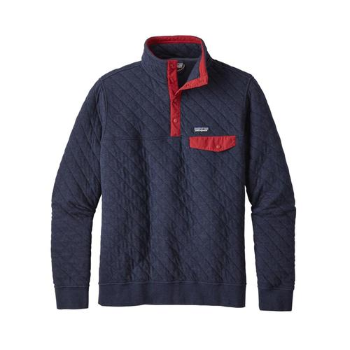 Patagonia Men's Cotton Quilt Snap-T Pullover Nvyb_blue