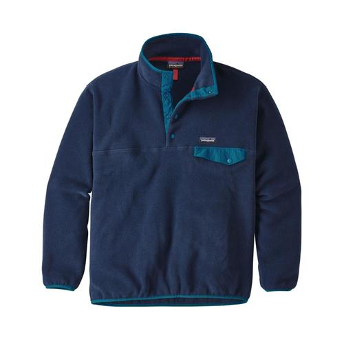 Patagonia Men's Synchilla Snap-T Fleece Pullover Nvyb_blue