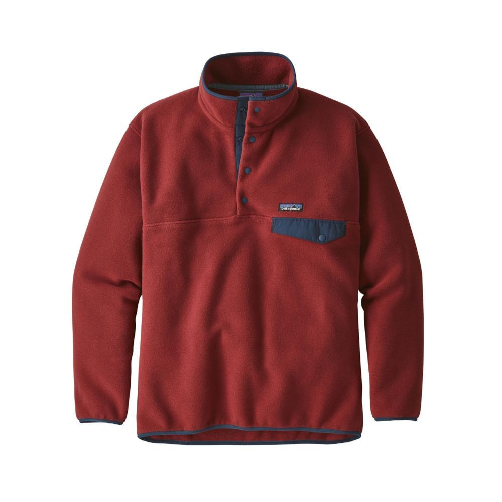 Patagonia Men's Synchilla Snap-T Fleece Pullover OXDR_RED